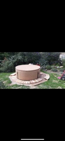 Création d'une terrasse en bois à Ars sur Formans