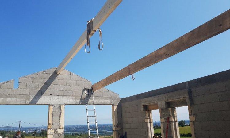 Création d'une toiture à Anse