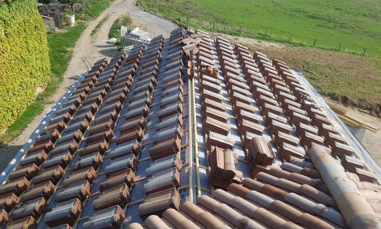 Création et pose d'une toiture à Anse